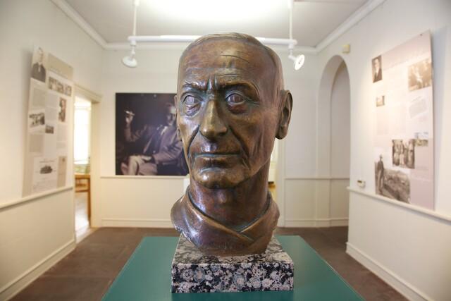 Blick in das Hermann Hesse Museum