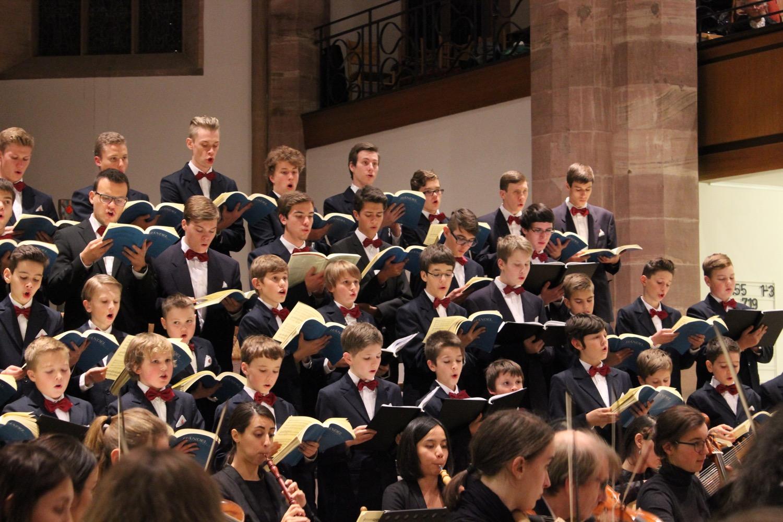 Konzert in der Kirche, Aurelius Sängerknaben