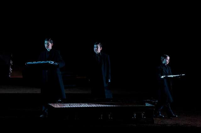 3 Knaben: Mozart's Zauberflöte