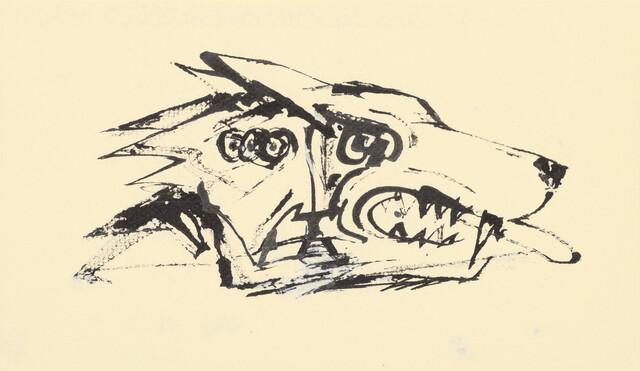 Gunter Böhmer: Steppenwolf-Illustration