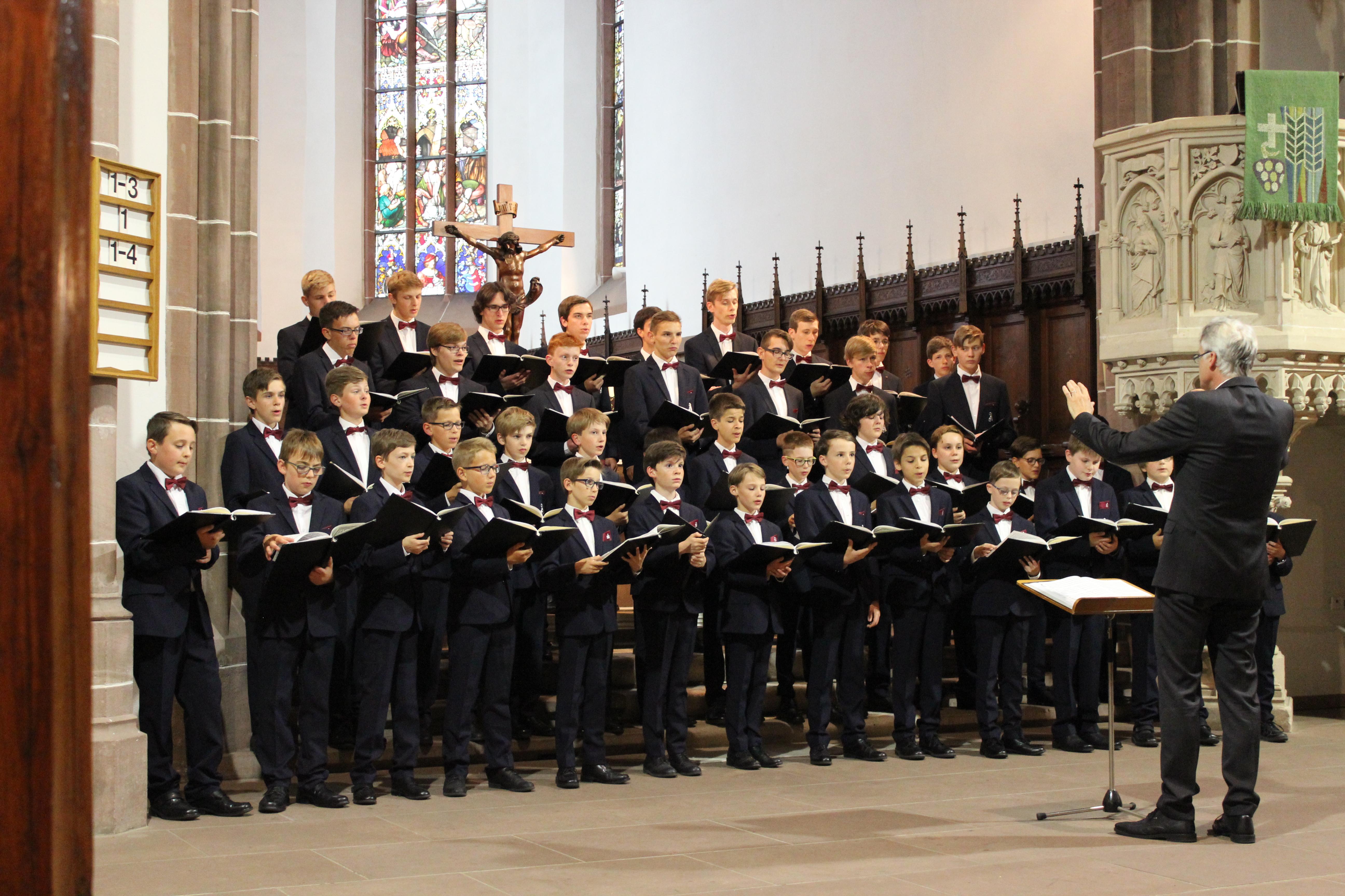 Aurelius Chor in der Kirche