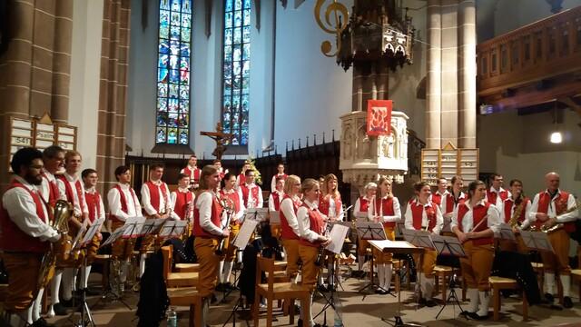 Eins der traditionellen Konzerte im Jahr ist das Kirchenkonzert zum Muttertag in der Stadtkirche