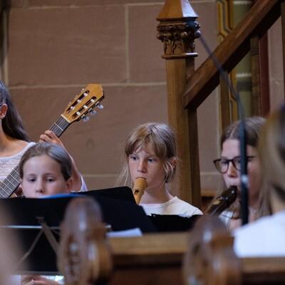 Musikschule Calw - Konzert in der Kirche
