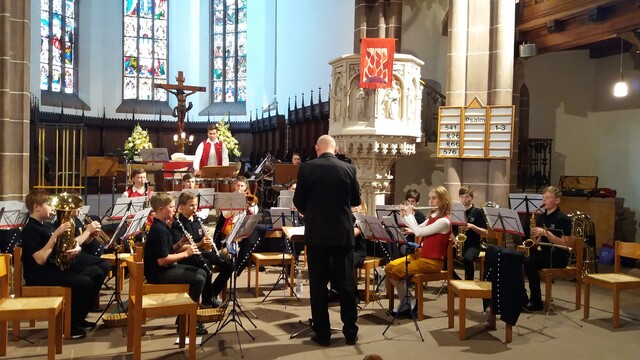 Auch die Jugendkapelle nimmt an den drei Konzerten teil.