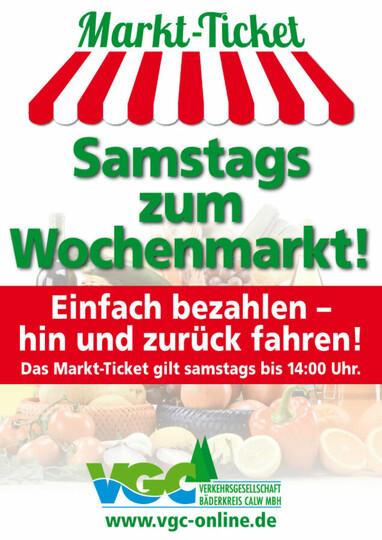 VGC Wochenmarktticket